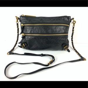 ☮️ Elliott Lucca Messina crossbody bag black gold